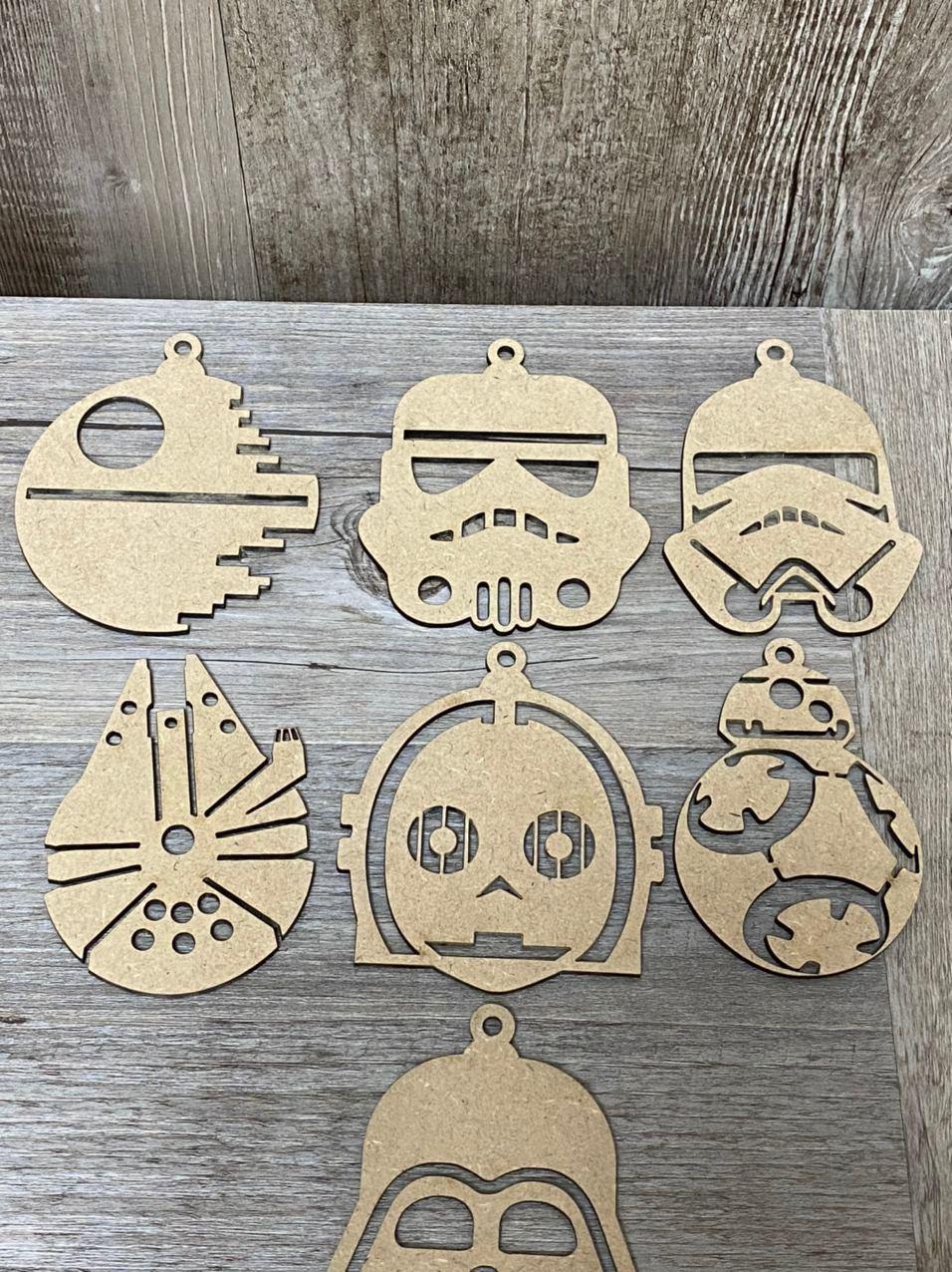 Bola de navidad Star Wars