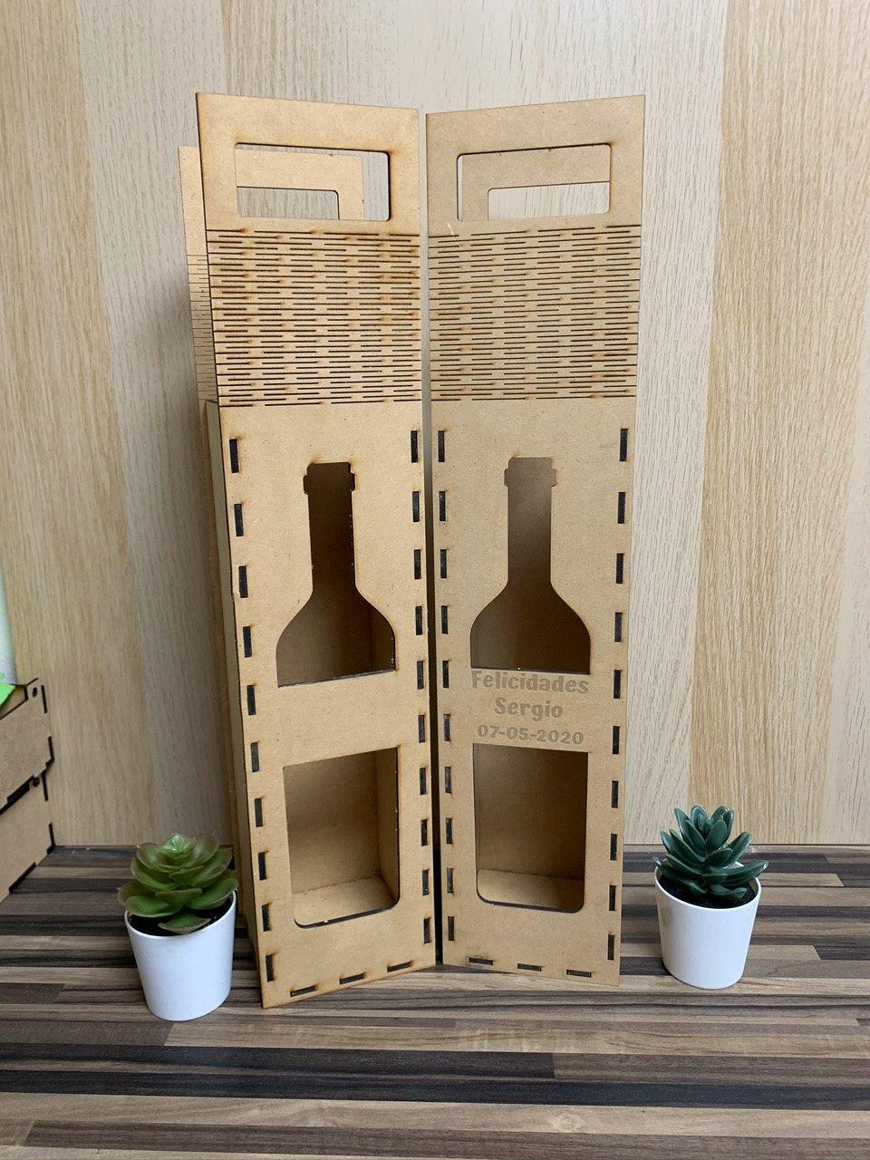 Caja de regalo vino