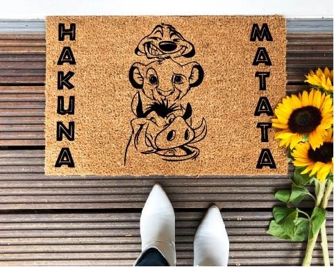 Felpudo Hakuna Matata...