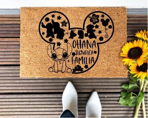 Felpudo Ohana significa...