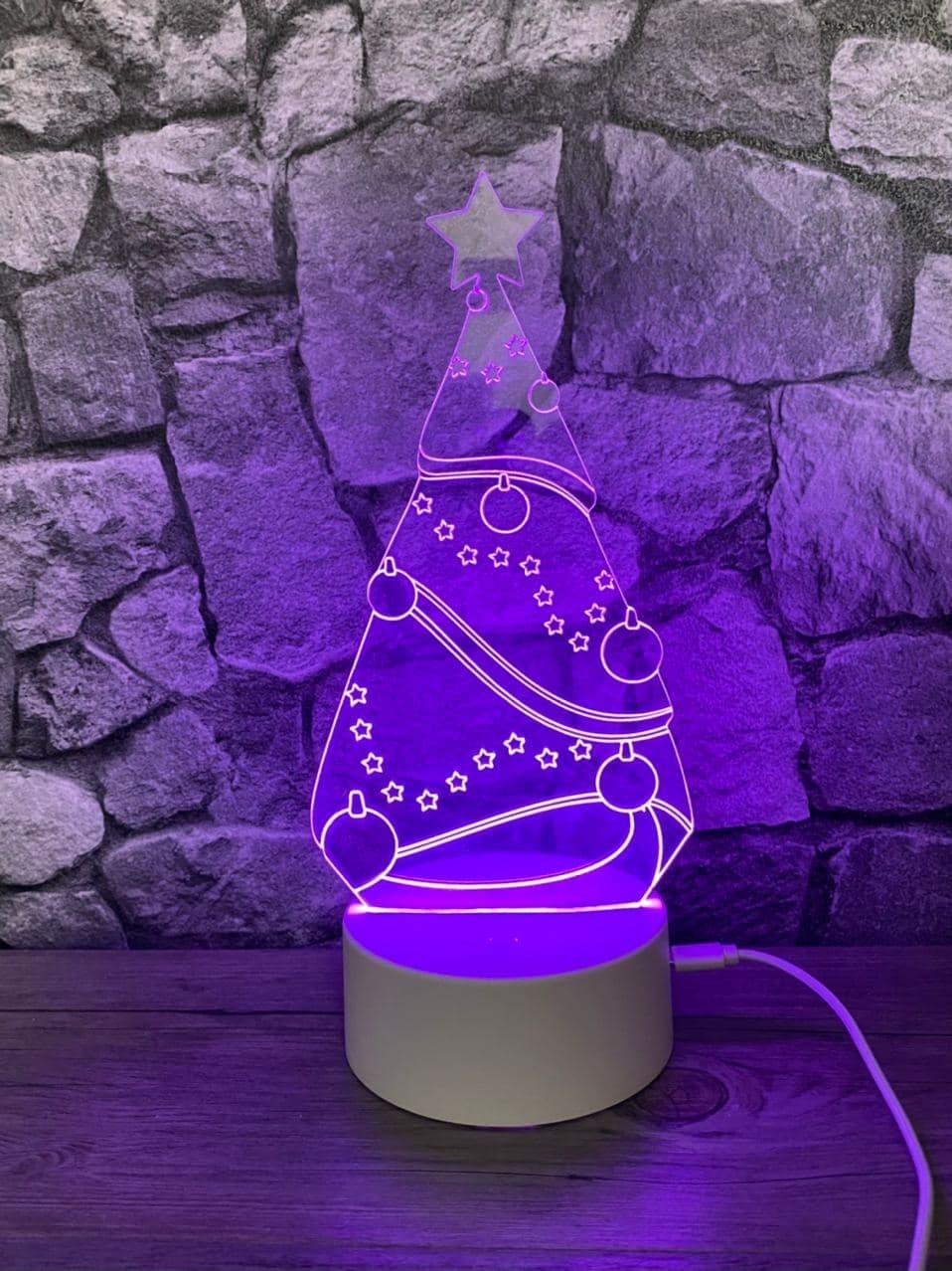 Lámpara led Árbol de Navidad
