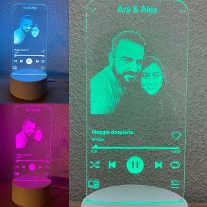 Lámpara led Spotify