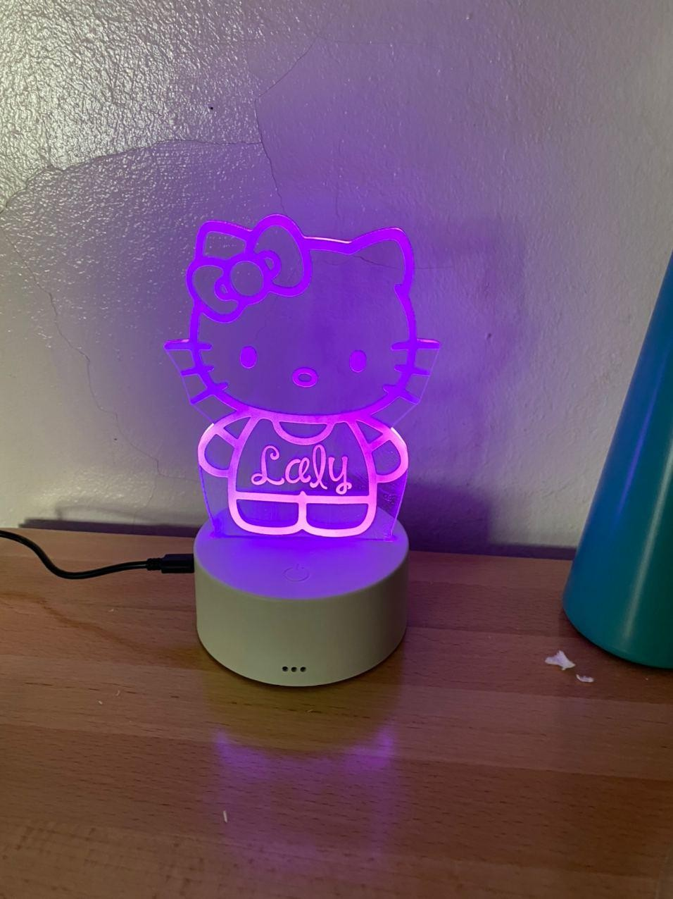 Lámpara led Hello Kitty