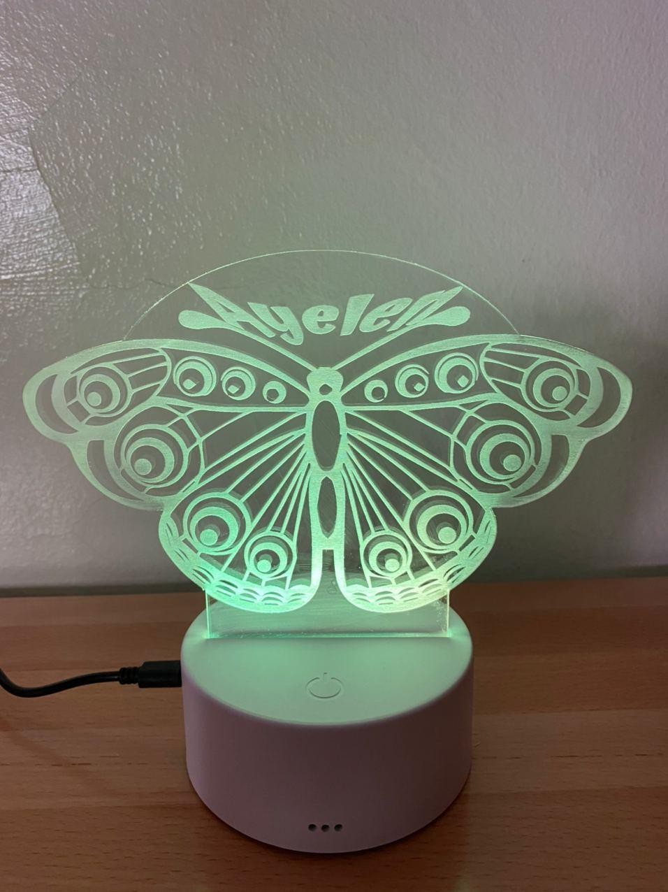 Lámpara led Mariposa