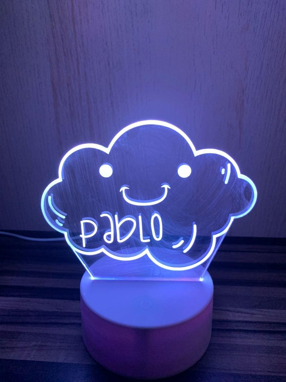 Lámpara led Nube