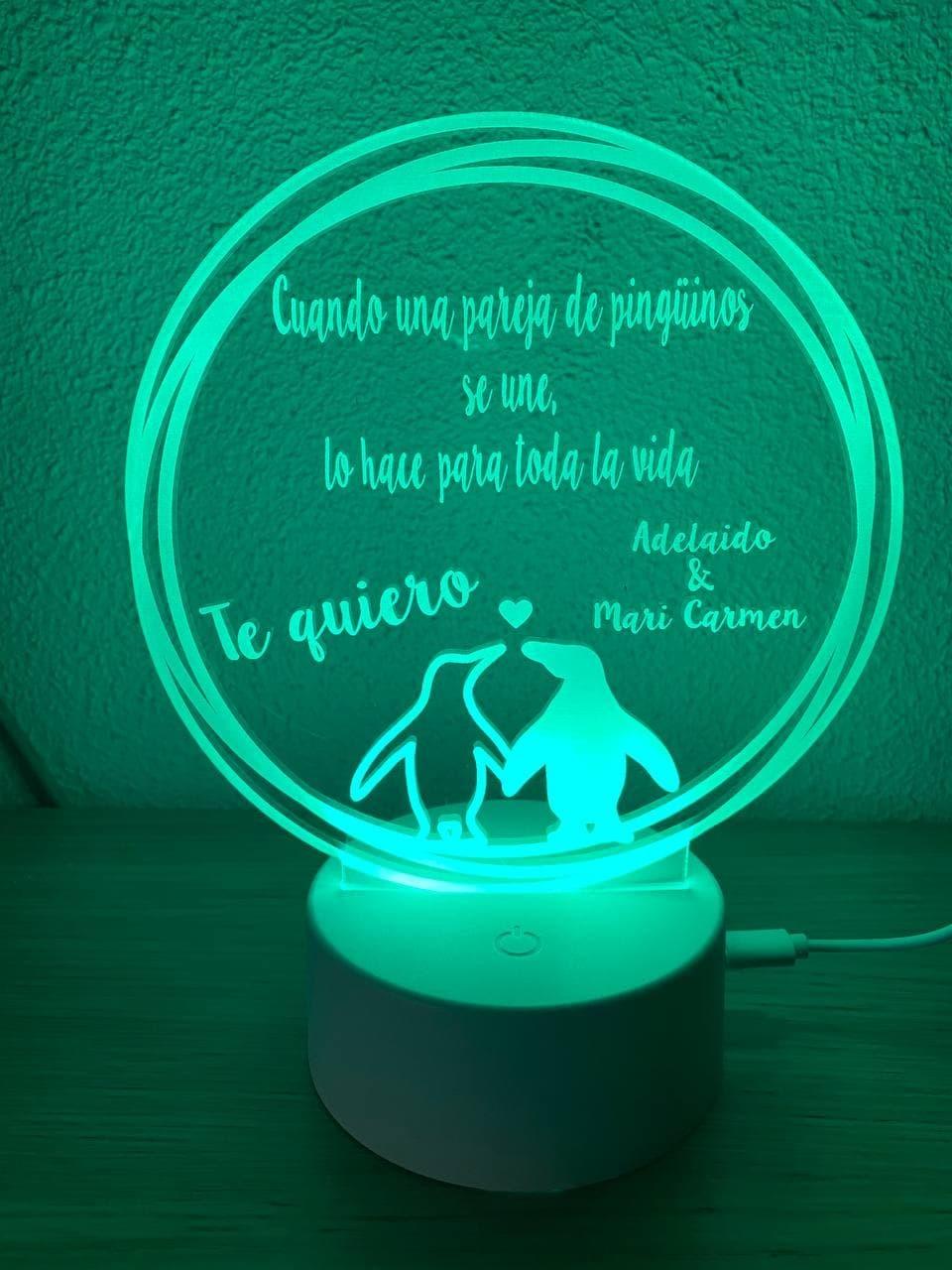 Lámpara led Pareja de...