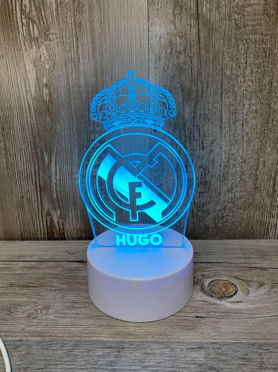 Lámpara led Real Madrid