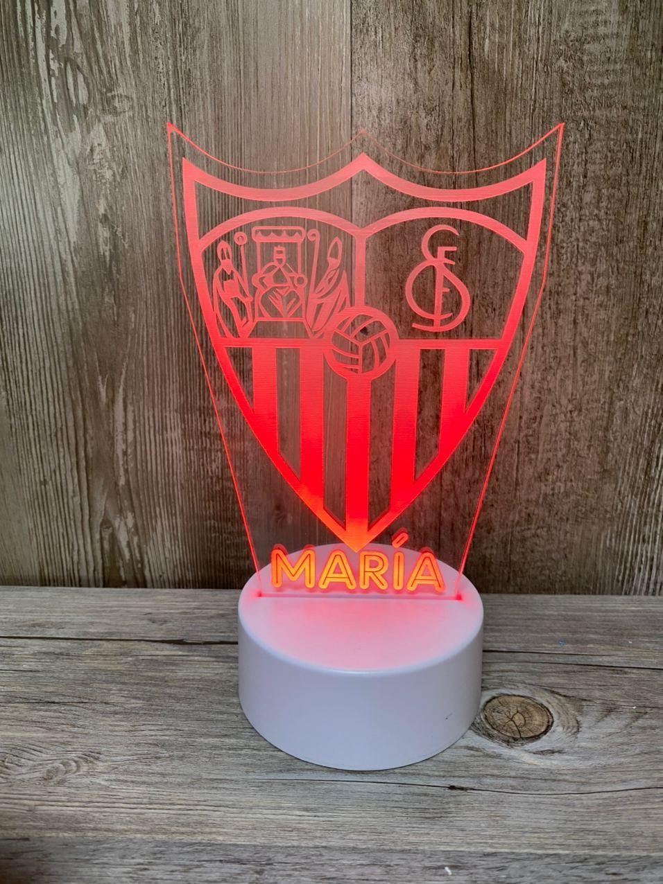 Lámpara led Sevilla FC